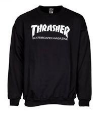 Thrasher Skate Mag Logo Crew Neck - Black