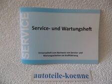 1x Universal Inspektion Serviceheft Wartungsheft Scheckheft VW geeignet
