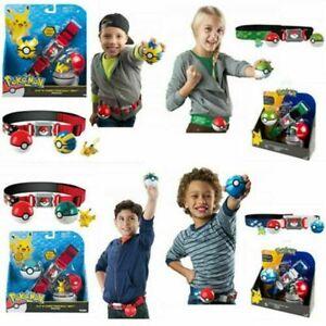 Pokemon Figur Tomy Clip N GO Poke Ball Spielfiguren + Gürtel Spielzeug toy