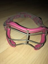 Women Stx Pink Lacrosse Field Hockey Goggle Protective Gear Cage Sight