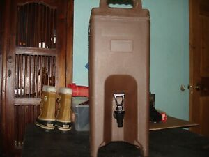 Silite Insulated Drink Dispenser 4.5 Gal LD500 Hot/Cold Handles brown