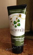 Richfeel Hair Pack Brahmi, Helps Nourish, Moisturize & Condition Hair-100gm