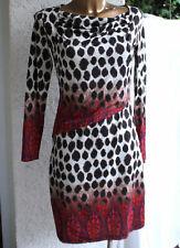 Comma Kleid 40 42 Top Zustand L Wunderschön Leopard rot beige