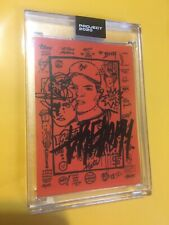 Signed Topps PROJECT 2020 Card 188 Willie Mays by Gregory Siff ARTIST Auto