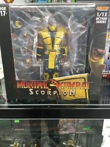 Storm Collectibles 1/12 Scale Mortal Kombat Scorpion SDCC Action Figure IN STOCK