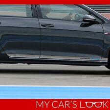 Volkswagen Golf MK7 side stripe graphics decal Volkswagen Racing sticker