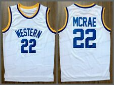 Butch McRae #22 Western Blue Chips Movie Men Basketball Jersey Stitched