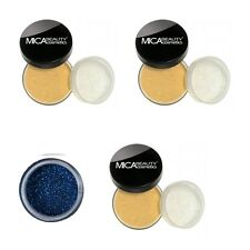3xMicabella (MICA BEAUTY) Foundation # Mf7 + DEEP SEA GLITTER