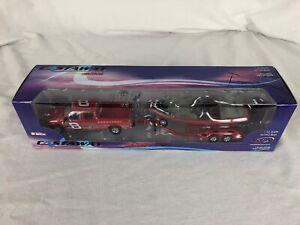 2003 Action Castaway Dale Earnhardt Jr #8 Red 1/43 Scale Nitro Boat & Truck Set