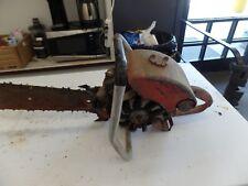Vintage Homelite Model 17 Chainsaw