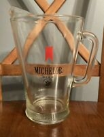 Vintage Michelob Beer 64 Ounce Glass Pitcher 2 Quarts