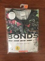 Bonds Baby Native Florals Stars Short Sleeve Zip Romper Size 00 BNIP
