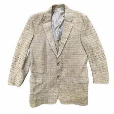 1950s style tweed fleck blazer sportscoat ROCKABILLY vintage