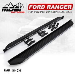 MOBI Side Steps Running Boards For Ford Ranger PX XL XLT Wildtrak Raptor 2012-UP