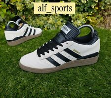 BNWB Genuine Adidas Originals ® Busenitz Crystal White Suede Trainers UK Size 7