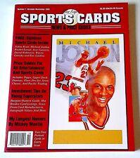 """MICHAEL JORDAN 1991 ALLAN KAYS PREMIER ISSUE #1 MINT """"C"""" PHOTOS & DESCRIPTION"""
