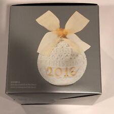 Lladro 2016 Annual Christmas Re-deco Ball Ornament #18412 New In box