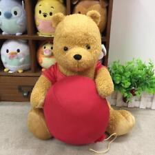 Disney Christopher Robin Plush Doll Winnie The Pooh with balloon 35cm Japan