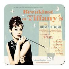 Nostalgic especie metalluntersetzer Audrey Hepburn Tiffany 9x9 corcho subpágina