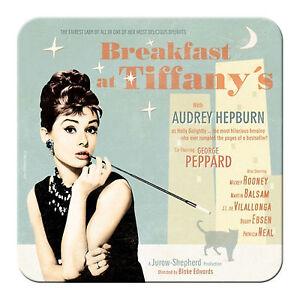 Nostalgic Art Metalluntersetzer Audrey Hepburn Tiffany 9 x 9 Kork Unterseite