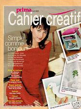 PRIMA Cahier créatif. Avril 2003. Vintage.