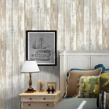 Multi-purpose PVC Vintage Self-adhesive Wood Grain Floor Wall Contact Paper N1V7