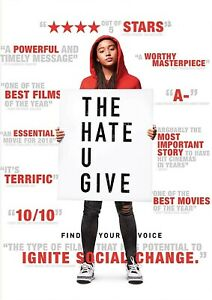 The Hate U Give (2018) DVD R 1,3,4 - Amandla Stenberg, Regina Hall, Thriller