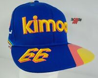 #66 Kimoa Fernando Alonso 2019 Indianapolis 500 McLaren Racing Snapback Hat