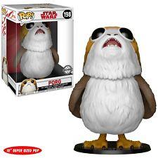 """Disney The Last Jedi TLJ  Funko Pop! Target Exclusive 10"""" Inch PORG HTF #198"""