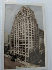 POSTCARD Hotel New Weston Madison Ave NY O-1
