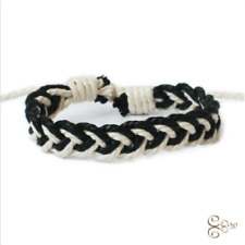 New Fashion Linen Bracelet Female Charm Cuff Woven Bracelet New Jewelry Gift