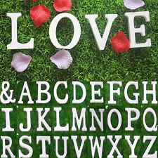 Heiß! 3D Holzbuchstaben Buchstabe Zahlen Zahl Buchstaben Holz weiß Namen Dekor