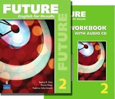 Future English 2 workbook and future English 2 textbook with CDs