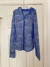 Ivviva Jacket Size Girls 12Ivivva by Lululemon Purple Gray Zip-up Hoodie