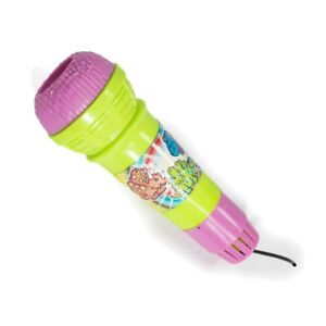 2 x Mini Dinosaur Echo Mic Microphone Distort Voice Changer Childrens Kids Gifts