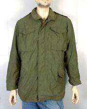 vtg 80s Post Vietnam era Us Army Og-107 Field Jacket Winfield Military sz S Long