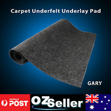 Marine Boat Underfelt Deck Board Carpets Gray 2 Meter Width Roll - Sold Per Mtr