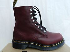 Dr Martens 1460 PM Chaussures 36 Bottes Bottines Naturesse Wine Bordeaux UK3 New