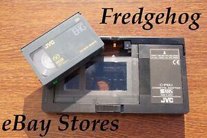 JVC C-P6U Vhs-C / Svhs-C Adaptateur - Jouer Votre Caméscope Cassettes En Vidéo