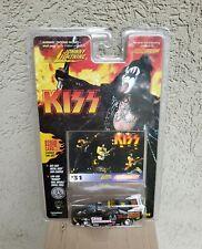 Kiss Johnny Lightning Diecast Stock Car/ Photo Card Gene Simmons # 31 (Mint)!