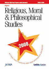 Religious, Moral and Philosophical Studies Higher SQA Past Papers 2008-ExLibrary