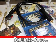 Schweissbrenner MB25 4m PROFI Mig Mag Eurozentralanschluß Schlauchpaket Brenner