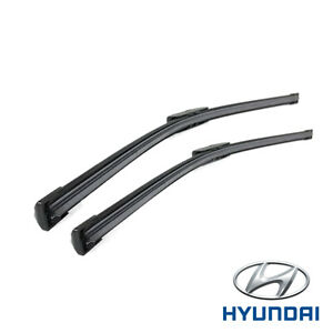 "GENUINE HYUNDAI I30 2012- FRONT WIPER BLADE TWIN SET 26"" x 14"" L983FH2614R0"