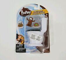 Poopeez Series 1 Toilet Launcher Playset & BONUS Squishy Collectible Poopeez
