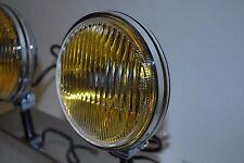 Porsche Hella 118 horn grill Fog lights amber reflector 911 912 as NOS, Pair