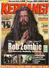 Rob Zombie on Kerrang Cover 1998    Feeder   The Deftones   Cradle of Filth