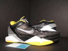 e9e2153b937e Nike Zoom KOBE VII 7 SUPREME DEL SOL BLACK SILVER TOUR YELLOW WHITE  488244-001