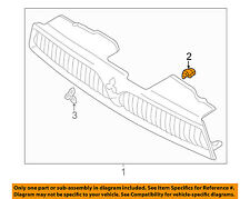 MITSUBISHI OEM 99-03 Galant-Grille Assembly Clip MR221507
