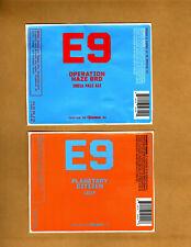 Rare Micro Beer Labels E-9 Tacoma Wa !