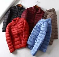 Woman Packable Ultralight Down Jacket Winter Puffer Outerwear Coat Uniqlo style